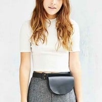 Silence + Noise Half-Moon Leather Belt Bag