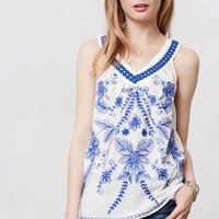 Embroidered Prema Tank