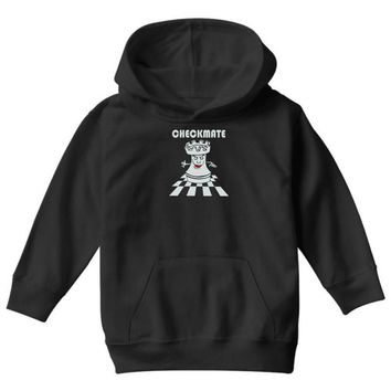 varsity chess checkmate Youth Hoodie