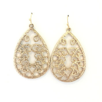 Gold Morning Earrings