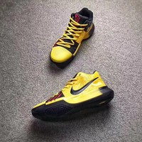Beauty Ticks Nike Kyrie 3 Bruce Lee Men Basketball Shoes