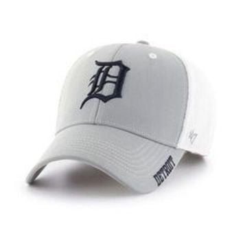 ESBON MLB Detroit Tigers Gray Alliance MVP Adjustable Hat