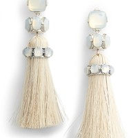 Tory Burch Jeweled Tassel Earrings | Nordstrom