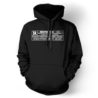 Rated R Men's Hoodie Unisex Sweatshirt