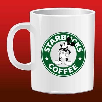 Starbucks Coffee Mickey Mouse for Mug Design