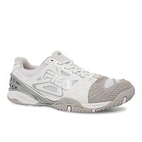 Fila Women's Cage Delirium Tennis Shoes - White/Grey