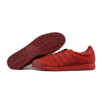 Adidas Samoa Vintage Mystery Red Pigskin Suede B39016