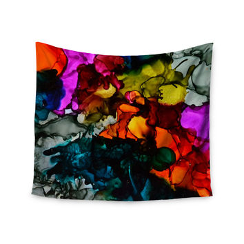 "Claire Day ""Hippie Love Child"" Wall Tapestry"