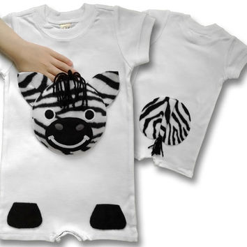 Best safari clothes products on wanelo zebra safari baby shower safari outfit animal onesuit baby girl onesuit negle