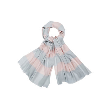 GALLERIA MARIMEKKO SCARF POWDER/LIGHT GREY