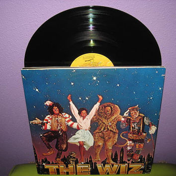 Vinyl Record Album The Wiz Original Soundtrack Double LP 1978 Michael Jackson Diana Ross Musical