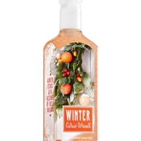 Deep Cleansing Hand Soap Winter Citrus Wreath
