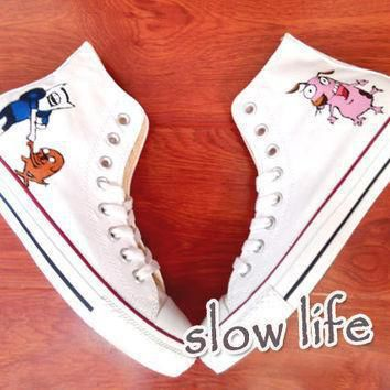 adventure time hand painted converse canvas shoes custom canvas shoes sneakers carto