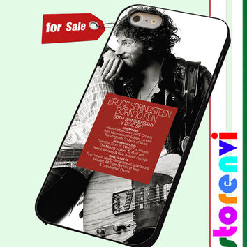 Bruce Springsteen Born To Run disc custom case for smartphone case