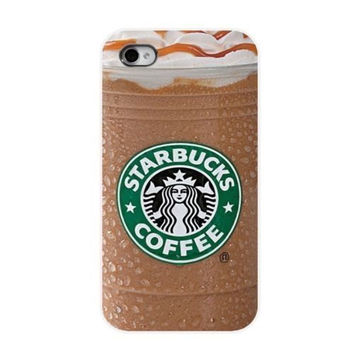 Starbucks coffee drink Case For Apple iPhone 5S 5s 5 fitted hard case Hipster