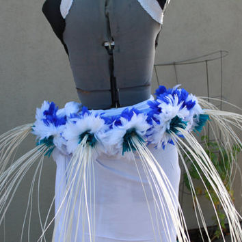 Tassel hip helt for Tahitian dance costume