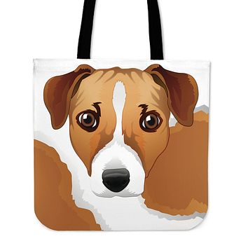 Real Jack Russel Terrier Cloth Tote Bag