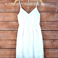 Country Girl Dress: White