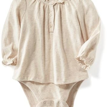 Old Navy 2 In 1 Ruffle Bodysuits