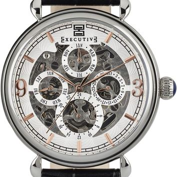 Executive Morning Grey Watch - Gents Automatic Analogue