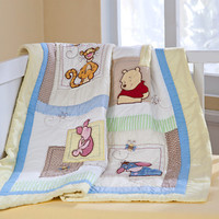 Disney Winnie the Pooh Quilt for Baby - Heirloom - Personalizable | Disney Store