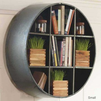 Round Metal Hanging Shelf - VivaTerra