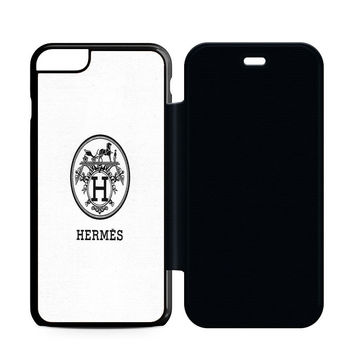 Hermes Logo Classic Flip Case iPhone 6 | iPhone 6S | iPhone 6S Plus  Case