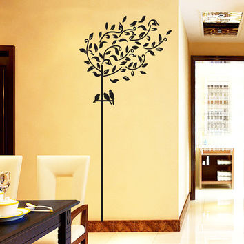 The new Willow sitting room bedroom home decoration wall removable wall stickers SM6