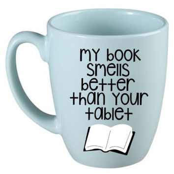 Cute Gift for Book Lovers - Quote Mug - Cute Coffee Cup - Unique Gift - Book Lover Gift - Librarian Cup - Funny Gift - Teacher Gifts