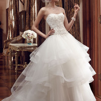 Casablanca Bridal 2199 Ball Gown Wedding Dress