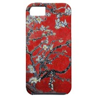 Vincent van Gogh Branches with Almond Blossom iPhone 5 Covers