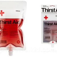 THIRST AID REUSABLE DRINK POUCH