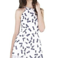Mirage Pineapple Fit and Flare Dress - FINAL SALE!