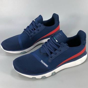 FILA 2018 new summer men's shoes light breathable running casual training shoes F-CSXY blue