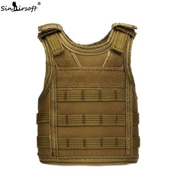 SINAIRSOFT Tactical Adjustable Shoulder Wine Bottle Cover Vest Protection Bottle Miniature Molle Carrier Vest 7 Color z511
