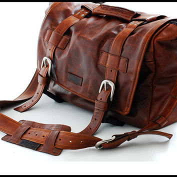 Carry All Professional Bag DSLR camera bag for Men by sizzlestrapz