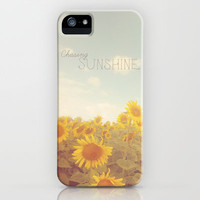 Bohemian Sunflowers iPhone Case by Sunkissed Laughter | Society6