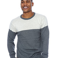 True Rock Mens Colorblock Sweater
