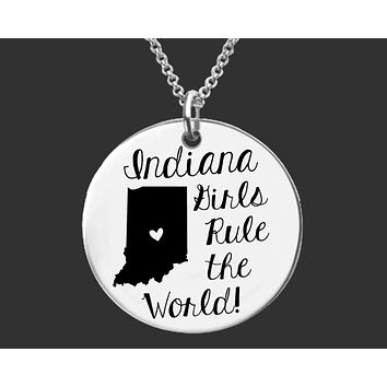 Indiana Girls Necklace | Indiana State