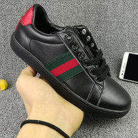 GUCCI Woman Fashion Flats Shoes Sneakers Sport Shoes