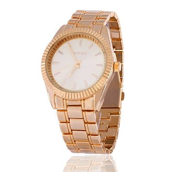 The 14K Gold Tradition Watch by King Ice