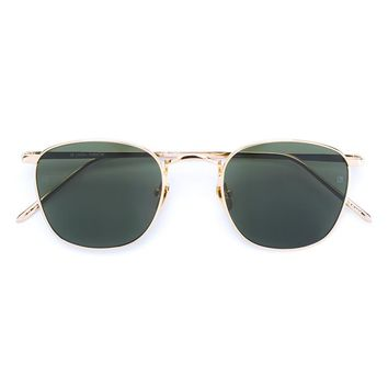 LINDA FARROW   Gold Aviator Sunglasses   brownsfashion.com   The Finest Edit of Luxury Fashion   Clothes, Shoes, Bags and Accessories for Men & Women