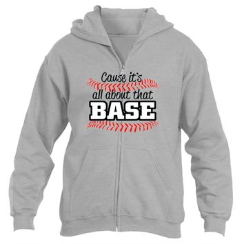 It's About That Base|Heavy Blend™Fleece Zip Hoodie|Underground Statements