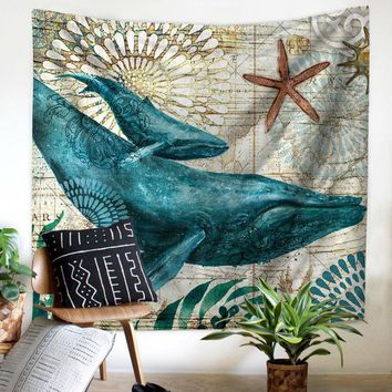 Whale Tapestry