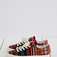 Inkkas Black Spectrum Low-Tops