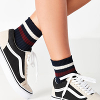 Varsity Striped Crew Sock | Urban Outfitters