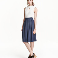 H&M Wide-cut Skirt $29.99