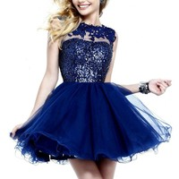 Sherri Hill 21217 Beaded Lace Dress