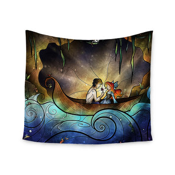 "Mandie Manzano ""Something About Her"" Mermaid Wall Tapestry"
