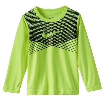 Nike Dri-FIT Stripe Graphic Tee - Boys